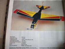 Bauplan  Speedy -oder Mach Mini - mit Bauanl.- Stückliste- Simprop/ Marutaka