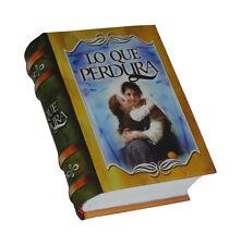 Lo Que Perdura libro miniatura fácil de leer y coleccionable pasta dura 430 pags