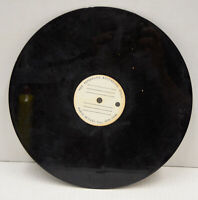 "AS-IS Condition Blank AUDIO DEVICES NY Acetate Record Disc 10"" Vtg Studio"
