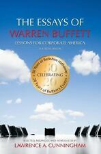 FREE SHIPPING: The Essays of Warren Buffett: Lessons for Corporate