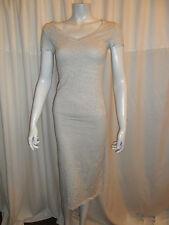 Cotton Blend Short Sleeve V Neck Everyday Dresses for Women