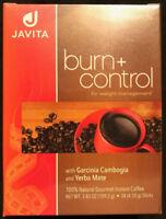 JAVITA COFFEE 2 Boxes Weight Loss Coffee BURN + CONTROL