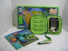 LEAPFROG Huge Lot of TAG Pen, 2 Books, U.S Map & LEAPPAD 2 6 Games and Case