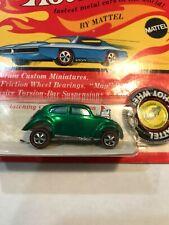 Redline Hotwheels Hot wheels Red line Custom Volkswagen BLISTER on Card