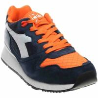 Diadora Camaro Leather  Casual Running Neutral Sneakers - Blue - Mens