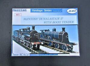 7mm Scale Caledonian Railway/LMS '766' Class 4-4-0 Locomotive kit