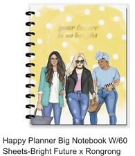 Big 85x11 Happy Planner Always Better Together 60 Sheets Dot Grid