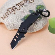 Portable Mini Folding Knife Outdoor Camping KeyChain Wallet Pocket Survival Tool