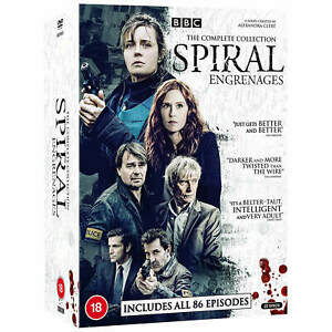 """SPIRAL COMPLETE BBC SERIES 1-8 COLLECTION DVD BOX SET 22 DISCS """"NEW&SEALED"""""""