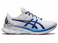 ASICS Men's Running Shoes NOVABLAST 1011B119 WHITE/ASICS BLUE