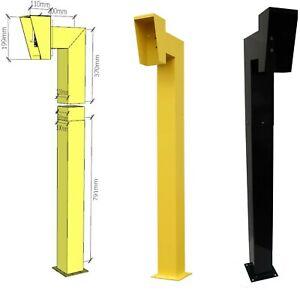 APC Gooseneck Pedestal. Strong Keypad, Intercom Stand. Push Button Mounting Post