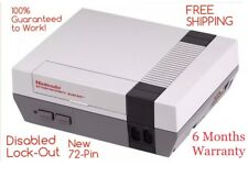REFURBISHED Nintendo NES Console System ONLY, New 72-pin, Lockout Disabled