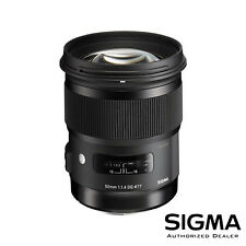 Sigma 50mm f/1.4 DG HSM Art Lens for Canon EF ***USA AUTHORIZED***