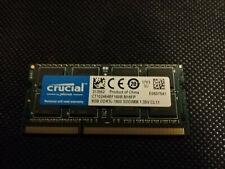 Mémoire CRUCIAL 8GB RAM PC3L DDR3L-1600 1.35v CL11 CT102464BF160B.M16FP 1703