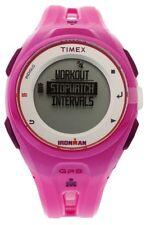 PRE-OWNED $139.95 Timex Womens Ironman Run x20 GPS Magenta Resin TW5K87400