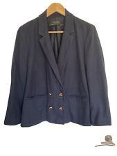 Zara Blue Double Breasted Blazer Size L