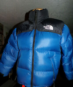 Vintage 90's THE NORTH FACE Hooded Packable Goose Down Puffer Jacket Size Medium