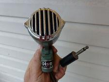 "Vintage Olsen 1960's Argonne AR-54 Crystal Microphone Head with 6"" cord & Plug"