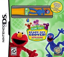 Sesame Street: Ready, Set, Grover! NDS New Nintendo DS