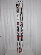 "HEAD "" SUPER SHAPE SPEED "" TOP SKI RACE CARVER 177 CM + BINDUNG"