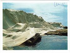Christo - signierte Karte - Wrapped Coast, Little Bay 1968-69 - COA Zertifikat