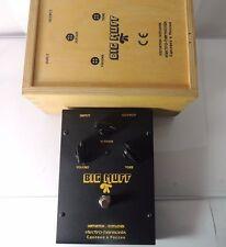 ELECTRO HARMONIX SOVTEK BIG MUFF PI BLACK BOX RUSSIAN FUZZ PEDAL w/WOODEN CRATE