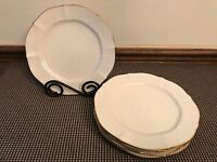 "Noritake ""CHANDON"" ~ Pattern #7306 ~ Set of 5 ~ Salad Plates ~ 8 1/4"""