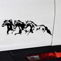 1PC Running Horses Car Vehicle Self-Adhesive Sticker Waterproof Decal Decoration