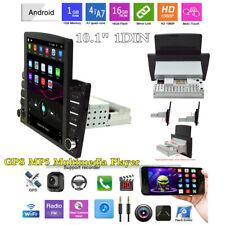 10.1In 1DIN Android 8.1 Quad-Core WiFi BT Reproductor de Radio Estéreo De Coche GPS Navegación