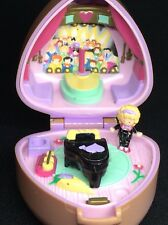 Polly Pocket Mini 💚 1991 perfect Piano Recital Anello CASE 9