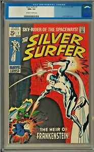 SILVER SURFER #7 CGC 9.6 OW/W PAGES John Buscema LAST $.25