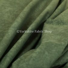 Quality Lightweight Low Pile Velvet Plain Dark Green Curtain Upholstery Fabric