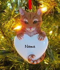 Cat Christmas Ornaments | eBay