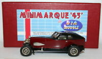 GTA Models / Minimarque 1/43 Scale Model 1929 Auburn Cabin Speedster BLK/MAR