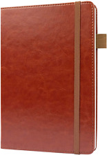 Lined Ruled Vegan Leather Journal Notebook by Scribbles That Matter - A5 for - -