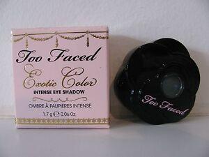 Too Faced Exotic Color Intense Eye Shadow Cop A Teal NIB