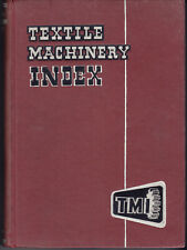 1956 Textile Machinery Index First Edition Published by John Worrall Ltd Oldham