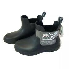 Rain boots Women's Totes Cirrus Ankle CHELSEA BOOTS Size 6 Rubber Boots Black