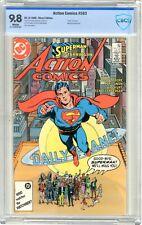 "Action Comics  #583  CBCS  9.8  NMMT   White pgs  9/86  ""Death "" of Krypto.Mxyzp"