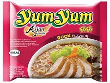 10 YumYum ENTE Instant Nudelsuppen 10 x 60g Yum Yum Duck Suppe Nudel