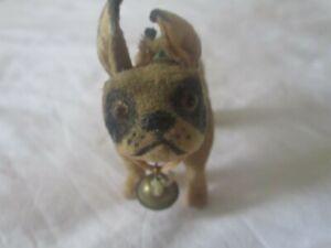 Vintage Steiff mohair stuffed animal - Bull Dog / PUG