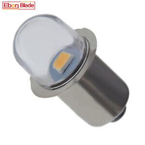 6000K/4300K P13.5S PR2 3V 4.5V 6V 12V 18V LED For Maglite Torch Flashlight Bulb