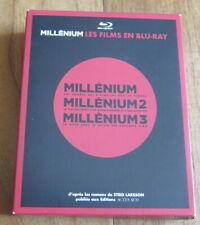 COFFRET MILLENIUM, LA TRILOGIE (3 BLU-RAY)