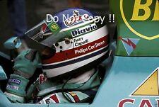Ivan Capelli Leyton House March CG891 Belgian Grand Prix 1989 Photograph