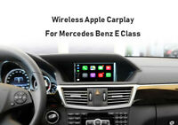 Wireless Apple Carplay Module Android auto For Mercedes Benz E CLASS NTG 4.5