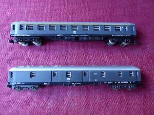 Coche de pasajeros y furgón. FS (Italia). LIMA Refs. 320301b y 320302b.