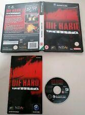 NINTENDO GAMECUBE - Die Hard Vendetta Nintendo GameCube 2002 Complete PAL UK Eur