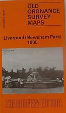 Old Ordnance Survey Map Liverpool (Newsham Park) 1905 S 106.11 Brand New Map