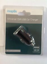 UNIVERSAL 1.5a USB CAR CHARGER