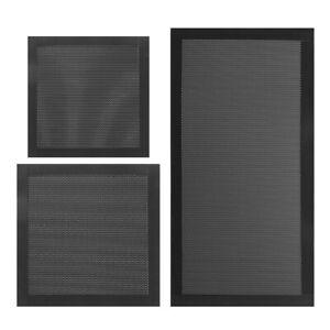 Computer Fan Dust Filter Magnetic PC Case Mesh Cover 8x8 12x12 14x14 12x24cm 08